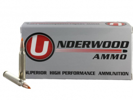 .223 Remington 55gr. Ballistic Tip® Varmint Lead core with Copper Jacket Hunting & Self Defense Ammo