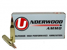 .243 Winchester 58gr. V-MAX® Lead core with Copper Jacket Hunting Ammo