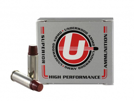 .44 Remington Magnum 255gr. Keith-Type Semi-Wadcutter Gas Check Hi-Tek Coated Hard Cast Hunting Ammo