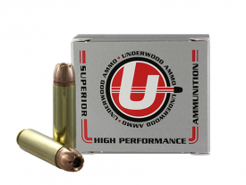 12.7x42 - Designed for use in .50 BEOWULF® firearms: 350gr. eXtreme Terminal Performance (XTP®) Jacketed Hollow Point Hunting Ammo